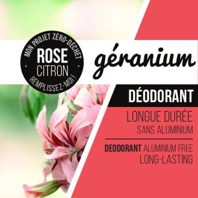 déodorant géranium